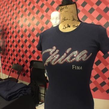 Rhinestone Chica Fina shirts